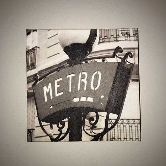 Other - 'metro' canvas picture